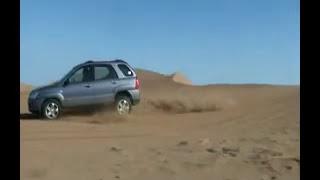 KIA Sportage Desert Jumping - IRAN