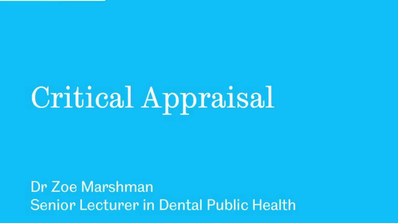 Download Critical Appraisal with CASP Part 1