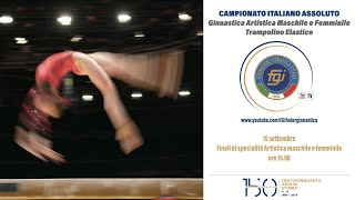 Meda - Assoluti - Finali di specialità Artistica maschile e femminile