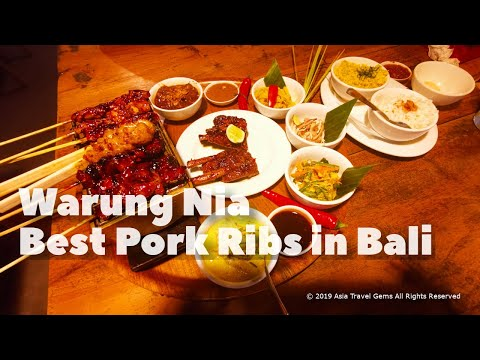 Best Places To Eat in Bali - Warung Nia
