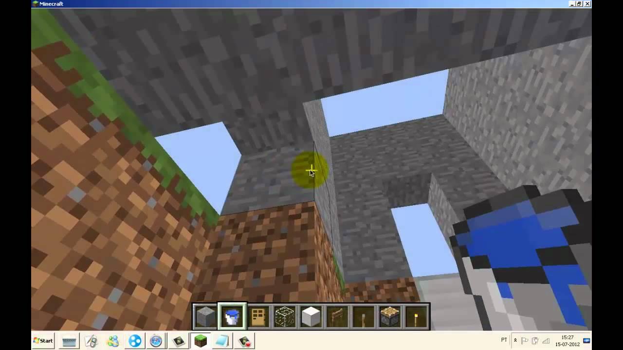Minecraft como fazer banheiro moderno youtube for Minecraft moderno