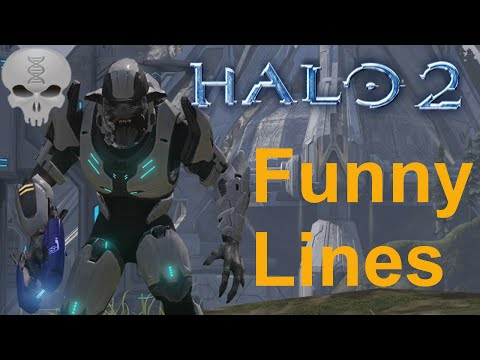 Lines of Halo - Halo 2 Elites (Funny Dialogue)