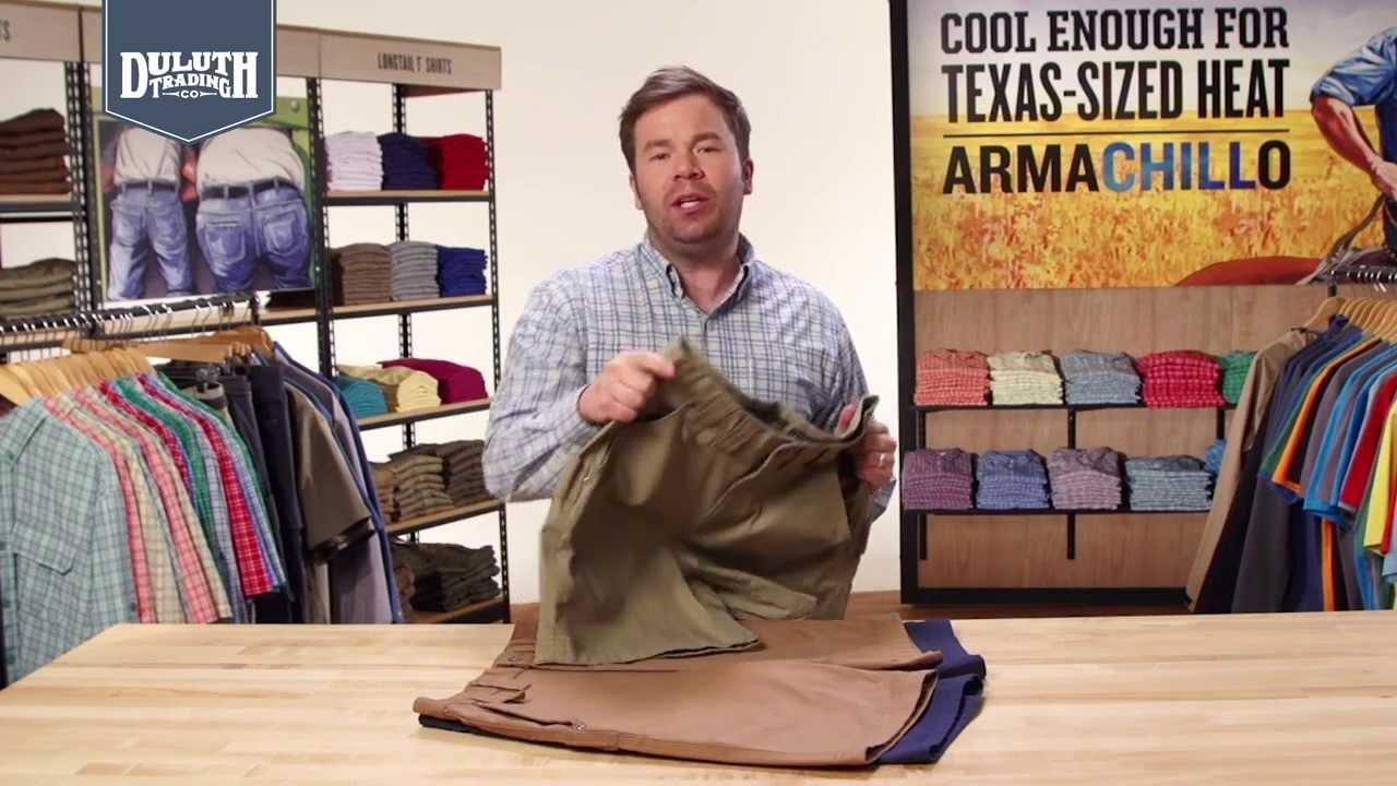 3c75334662 Duluth Trading DuluthFlex™ Fire Hose® Shorts - YouTube