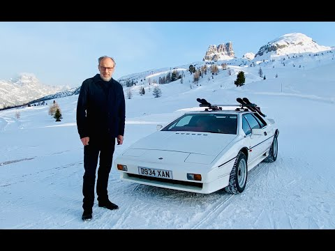 Lotus Esprit turbo 1000mile drive to Cortina to re-live the Bond movie 'For Your Eyes Only'