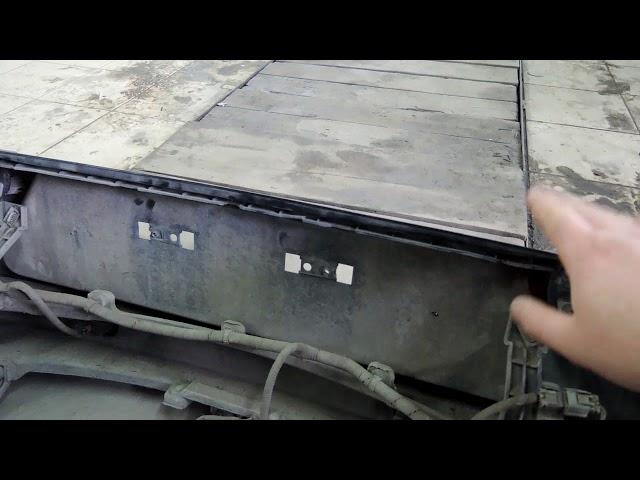 Снятие бамперов и порогов с KIA Sportage 2010г. The removal of the bumpers and sills KIA Sportage .
