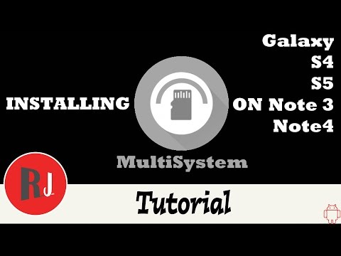 How to install MultiSystem App Tool on your Galaxy S4, S5, Note 3, & Note 4