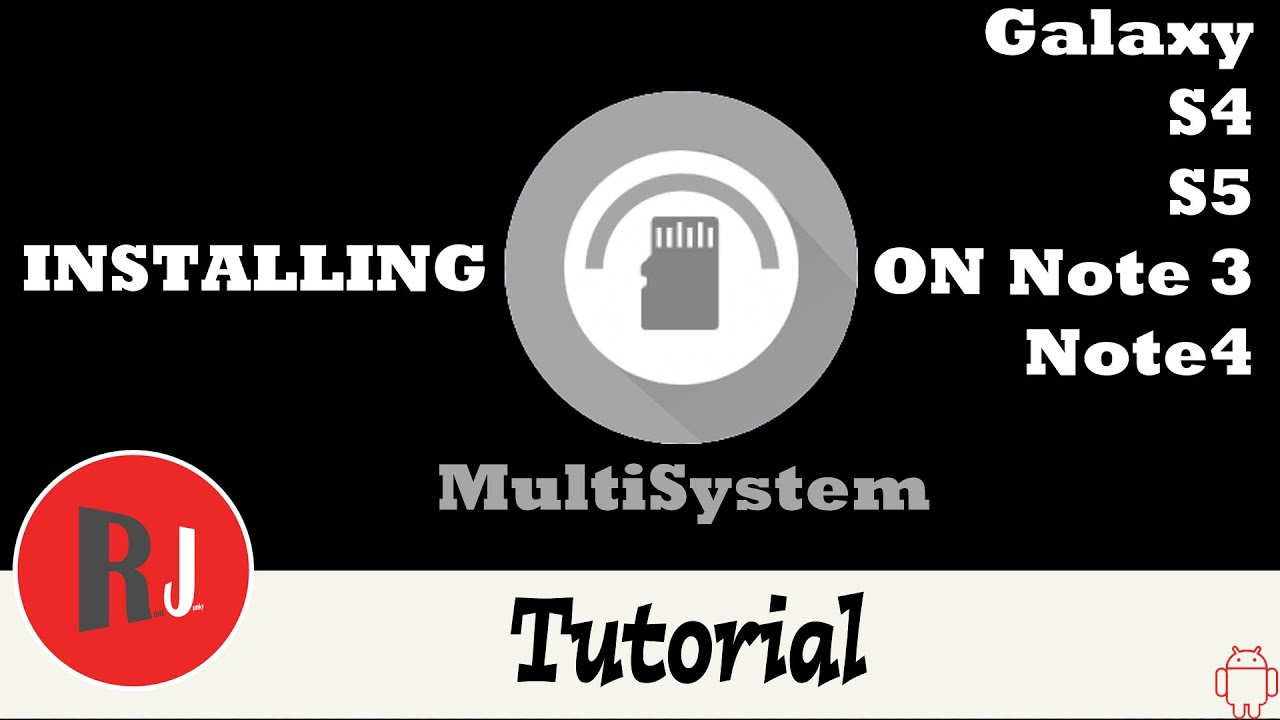 Q&A] MultiSystem for Android   AT&T Samsung Galaxy S 5