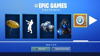 YOU CAN NOW GET FREE ITEMS IN FORTNITE!