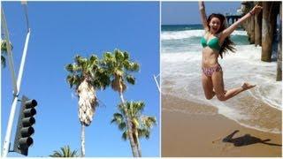 SumMere Vlog: Santa Monica Beach & Shopping