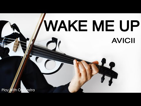 Wake Me Up - Avicii - Violin Cover - Play with Orchestra