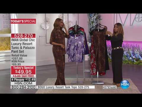 HSN | IMAN Global Chic Fashions 03.19.2017 - 04 PM