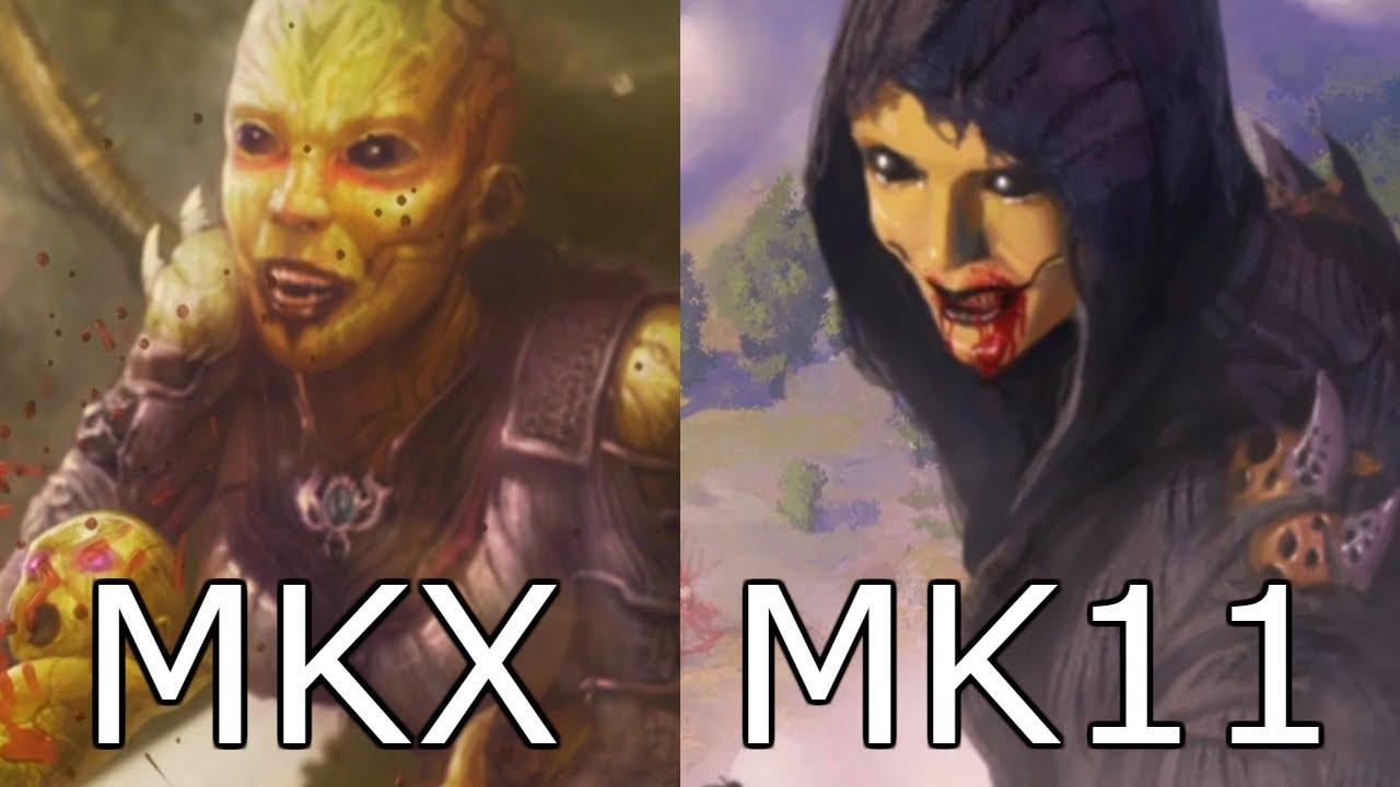 Final da D´Vorah em MKX & MK11