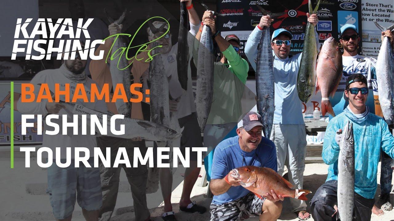 Battle in the bahamas extreme kayak fishing tournament for Kayak fishing tournaments