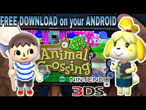 ANIMAL CROSSING NEW LEAF | LATEST 3DS/Citra Emulator For ANDROID | SD665 | Download Tutorial