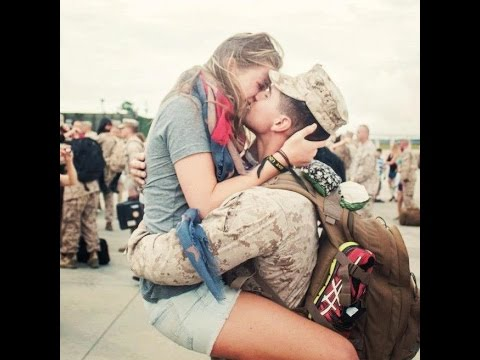 SOLDIERS COMING HOME TO GIRLFRIENDS | Try Not To Cry | RESPECT