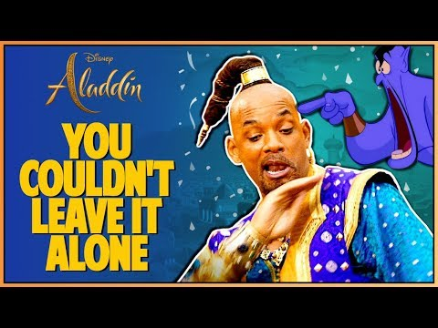 ALADDIN FINAL MOVIE TRAILER REACTION - Double Toasted Reviews