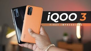iQOO 3 5G Smartphone Unboxing and first look | The Performance Monster Smartphone #MonsterInside