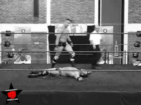 2nd Year Anniversary Promo: Ananzi vs Ryan Cage 2 out of 3 Falls