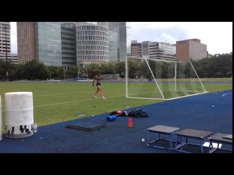 Inika McPherson - Training Jump 2.06m