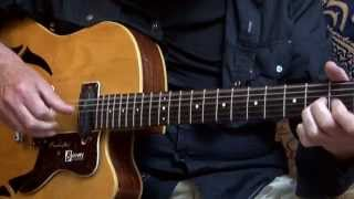 Burns GB 65 - 1965 electro acoustic 6 string