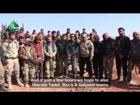 Free Syrian Army Statement on the liberation of Al Bab city