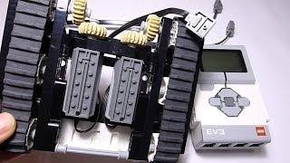 EV3 Controlling Power Functions Motor Practice: LEGO EV3 Tank