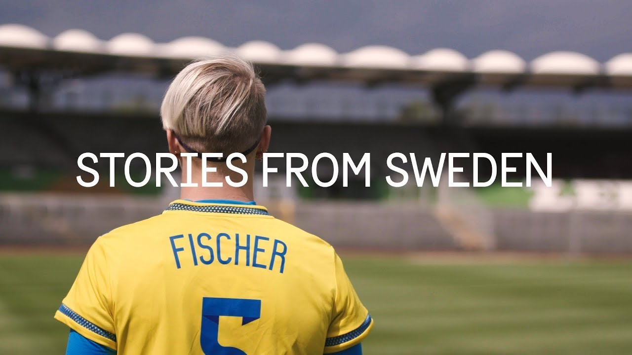 Taking a stand for women's football (audio description) - Stories from Sweden
