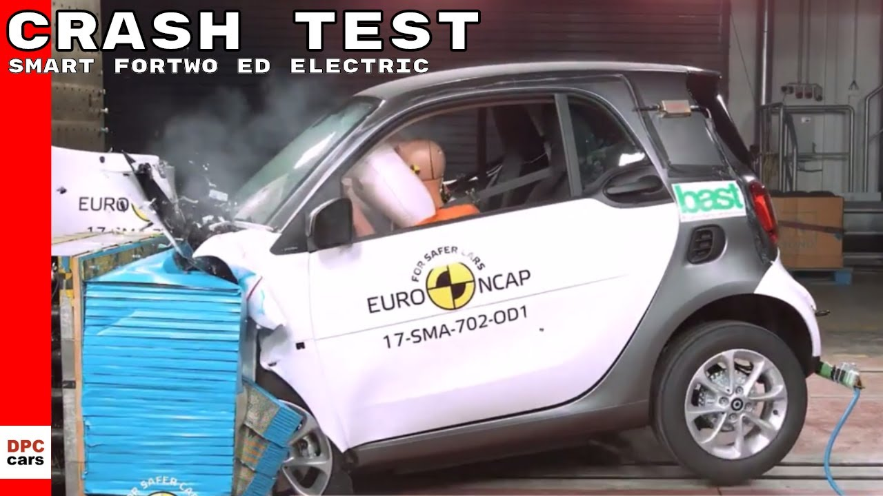 2017 Smart Fortwo Ed Electric Drive Crash Test Rating