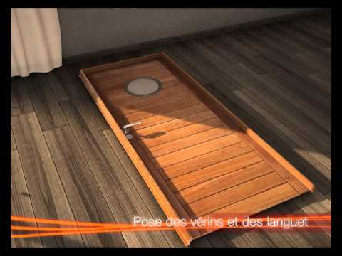 changer sa porte d 39 int rieur youtube. Black Bedroom Furniture Sets. Home Design Ideas