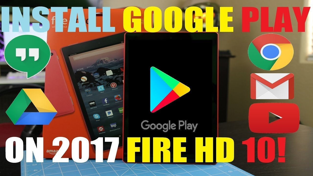 install play store on fire hd 8