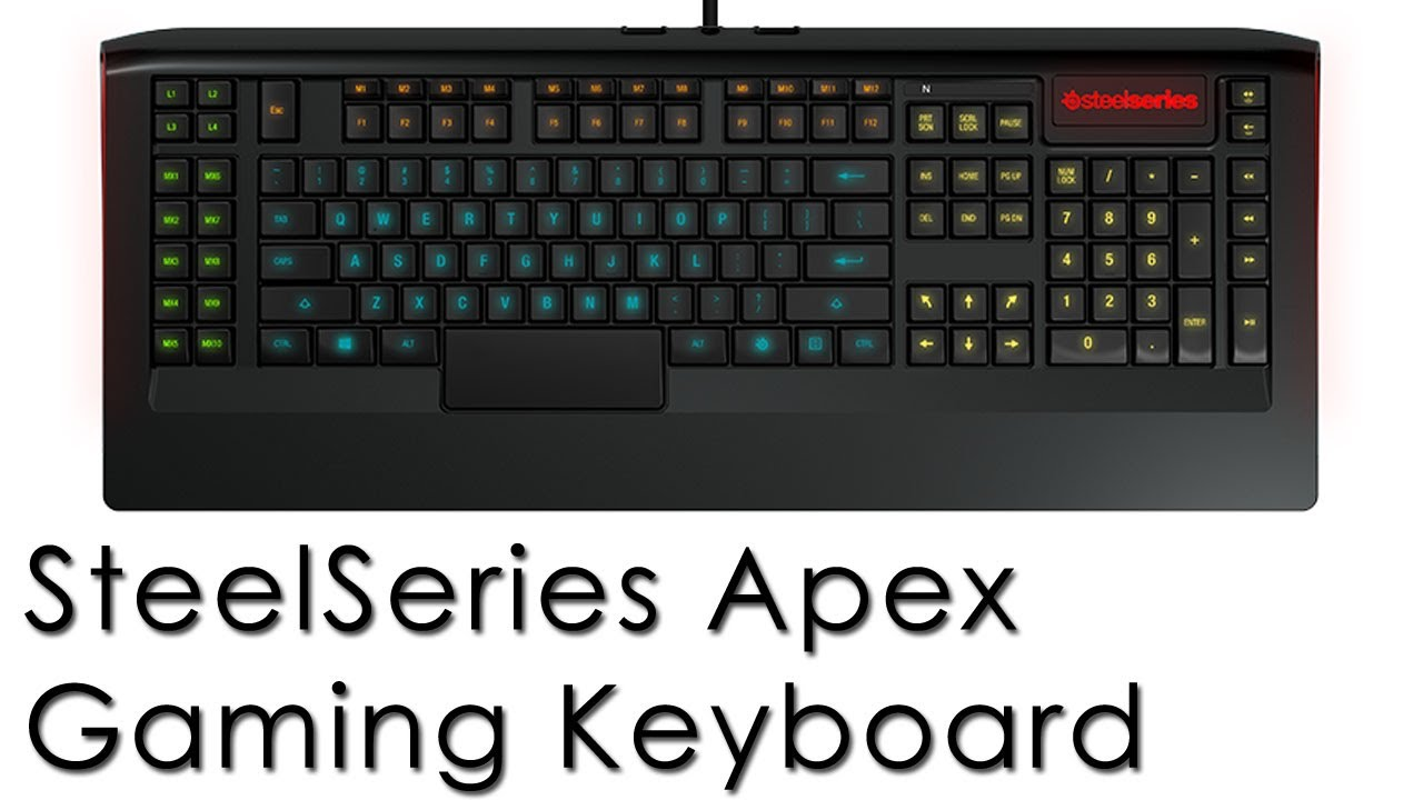 5c7efe52539 SteelSeries Apex Gaming Keyboard Recenzja\Review (ENG SUB available) -  YouTube