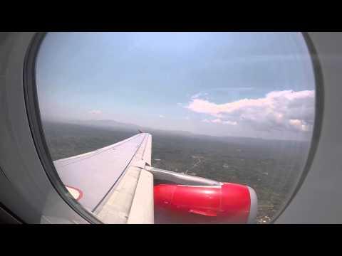 Landing in Kalamata