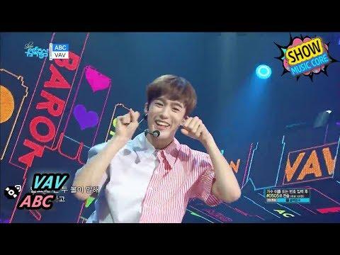 HOT VAV  ABCMiddle Of The Night, 브이에이브이  에이비씨 Show Music core 20170715