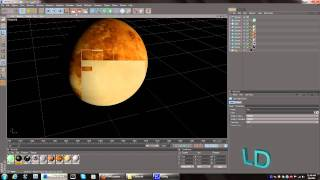 Cinema 4D | Creating The Solar System | Inner Terrestrial Planets