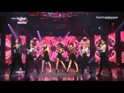 130726 Lush - Miserable @ Music Bank Debut Stage