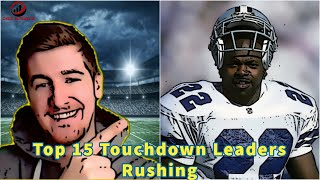 Top 15 Touchdown Leaders in the Super Bowl Era - Running Backs