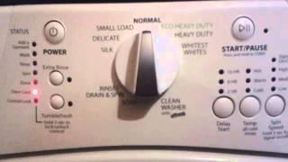 cdigo de error lavadora whirpool wfw9150ww