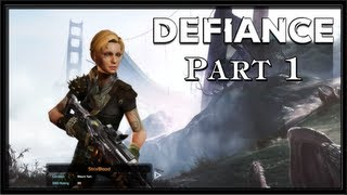 Defiance PC Gameplay - Part 1 - Intro - Character Creation and Tutorial