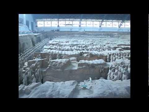 Thăm lăng mộ Tần Thủy Hoàng - Tây An- 16 02 2011
