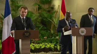H.E. Nana Akufo-Addo's unexpected response shocks French President