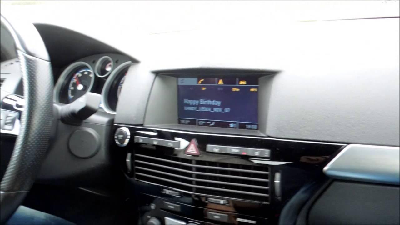 Astra H OPC CobraSport - YouTube