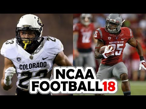 Colorado @ Washington State - 10-21-17 NCAA Football 18 PRESEASON Simulation