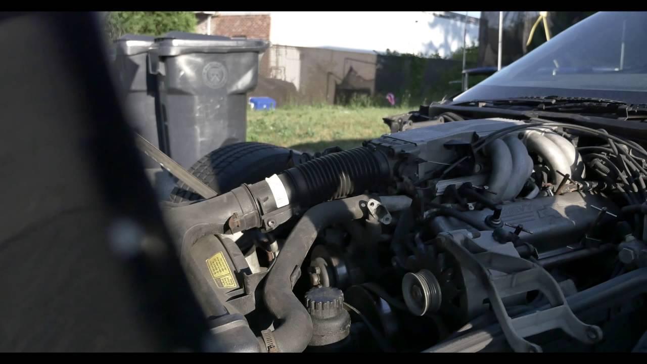 1985 corvette c4 - air smog pump replacement