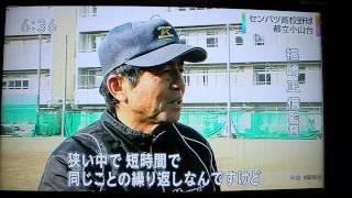"""小山台高校2014年3月21日都立初、甲子園!""""祝"""""""
