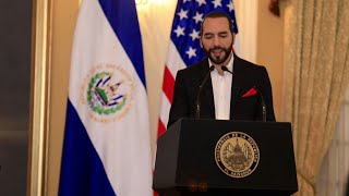 #EnVivo Nayib Bukele y Mike Pompeo de U.S.A |  Conferencia de Prensa | Audio Español