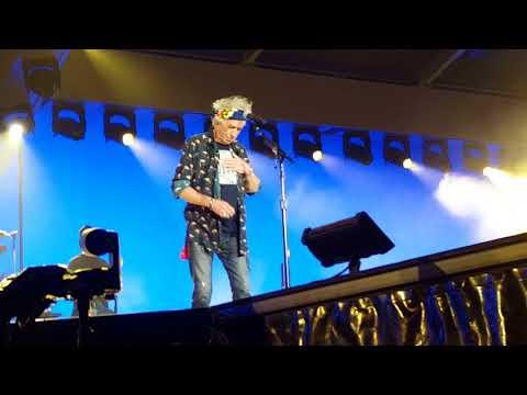 Keith Richards Barcelona Concert  2017