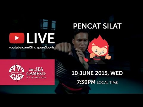 Pencak Silat Artistic Female Team - Regu Finals (Day 5)   28th SEA Games Singapore 2015
