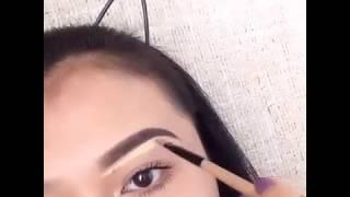 Макияж для карих глаз видео уроки