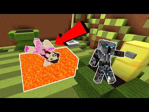 Minecraft: NOOB VS PRO!!! - DEATH RUN! - Mini-Game