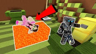 Minecraft: NOOB VS PRO!!! - DEATH RUN! - Mini-Game